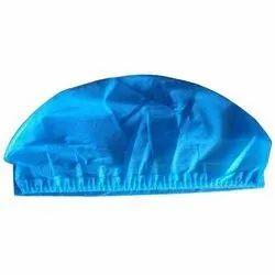 Blue Cotton Disposable Surgeon Surgical Cap, For Hospital