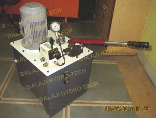 BHT Semi-Automatic and Fully-Automatic Hydraulic Power Pack - Dual Mode Operated