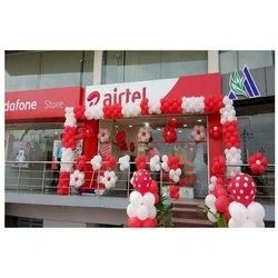 Corpat Lounch Store Opening Balloon Decoration Services, in Local