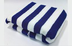 Blue And White Plain Cotton Swimming Pool Towel, Rs 245 /piece | ID ...