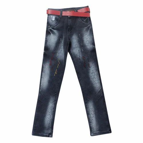 H.N Denim Kids Boys Fancy Party Wear Jeans, Packaging Type: Packet