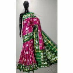 Silk Designer Patola Saree, Packaging Type: Box