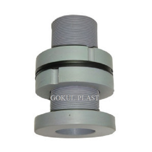 GOKUL Gray PP Tank Joint, for pp pipe fitting, Size: 1/2'  To 4'