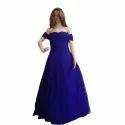 Ladies Blue Gown