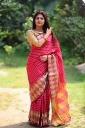 Silk Uniform Saree