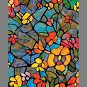 Multicolor Dk Stained Glass