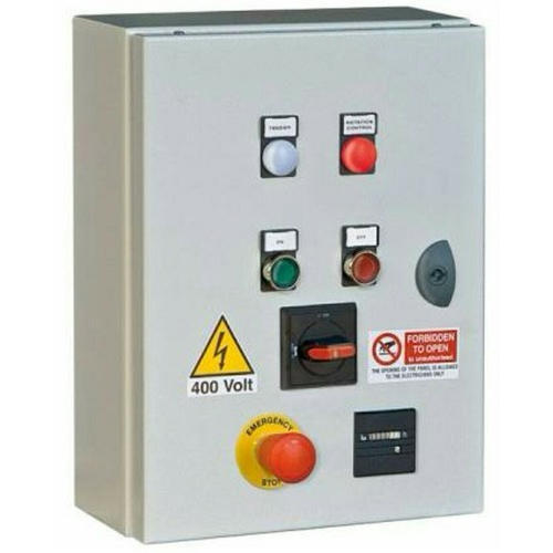 as per the requirement three phase motors drives electric panel