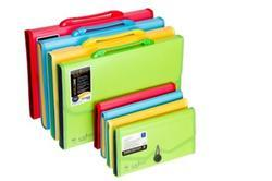 13 Pocket Expanding File with Handle & Lock