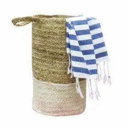 Natural Fabric Jute Basket