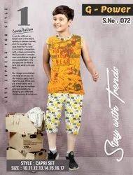 Boys Cotton Summer Clothes