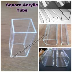 Square Acrylic Tube