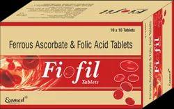 FIOFIL Tablets, Packaging Type: Alu Alu, Packaging Size: 10x10