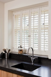 Wood Kitchen Shutter