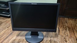 Lenovo Black Second Hand Computer & Laptop, Screen Size: 19, 4 Gb