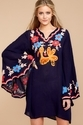Butterfly Embroided Kaftan