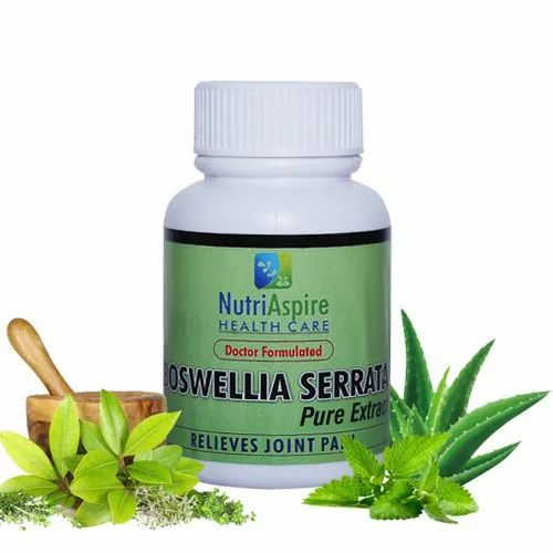 Boswellia Serrata Capsules, for Joint pain relief capsules, 60 Capsules