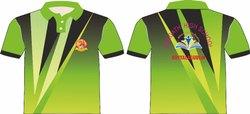 Green & Black Sports Dress
