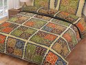 King Size Cotton Piping Bed Sheet with 2 Pillow Cover