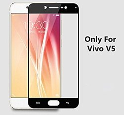 Vivo V5 Black Full Screen Tempered Glass
