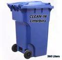 360 L Wheeled Garbage Bin
