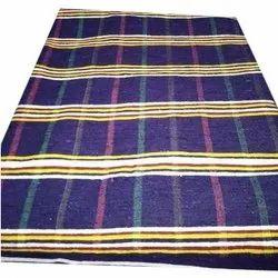 Vijay Luxmi Textile Garbage Wool Designer Shutleless Durries, Size: 6x9 feet