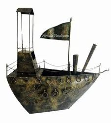 Iron Decorative Ship