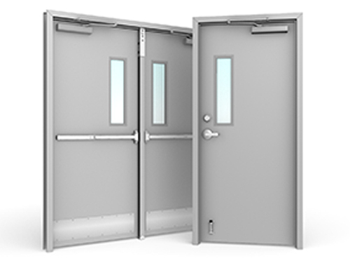 Ss fire rated door fire exit door fire proof doors - What is a fire rated door ...
