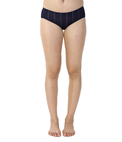 Navy Blue Spandex Color Womens Panty, Size: Free Size