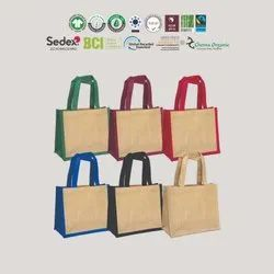 Reusable cotton jute bag manufacturer