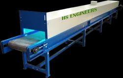 Vegetable UV Sterlization Disinfectant Conveyor System