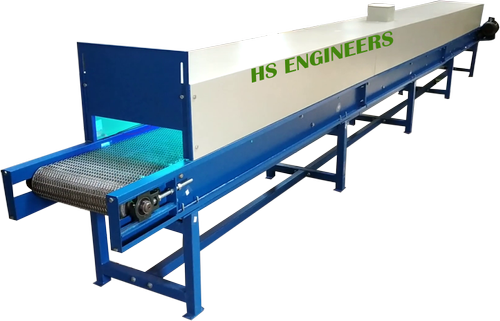 Vegetable UV Sterlization Disinfectant Conveyor System