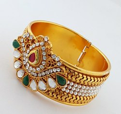 Oxidized Gold Plated Bangle