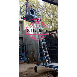 Adjustable Movable Big Platform Ladder