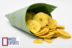 Nikosi Delicious Banana Chips, Packaging Type: Packet