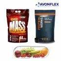 Plastic Laminated Food Supplements Packaging Pouch