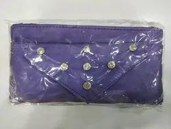 Blue Designer Ladies Wallet