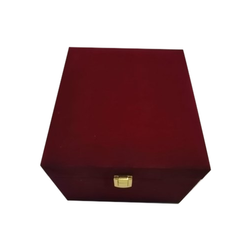 Rectangle MDF and Suede Jewelry Box