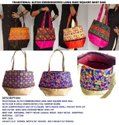 Everythings Indian Cotton Beautiful Embroidered Shoulder Bag - Women Ethnic Bag