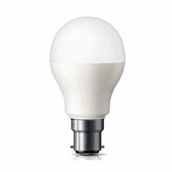 Warm White 9 W LED Bulb for Home, Base Type: B22