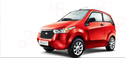 Red Mahindra E2o Car