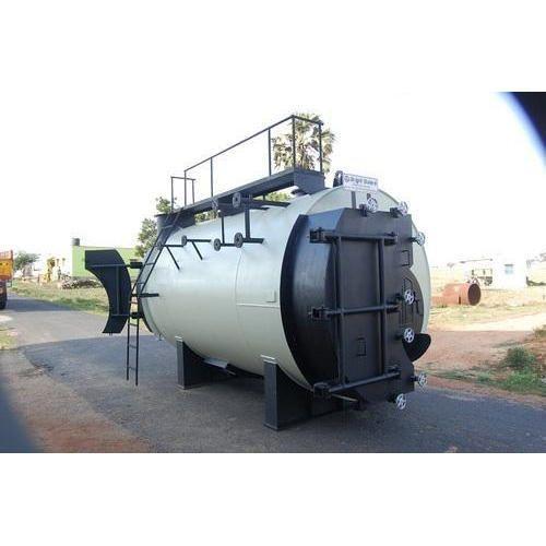 3 Pass Wet Back Boiler, Wet Back Boiler - Bright Engineering ...