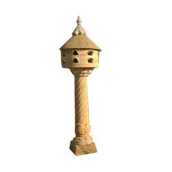 LED Handmade Door Declarative Stone Lamp