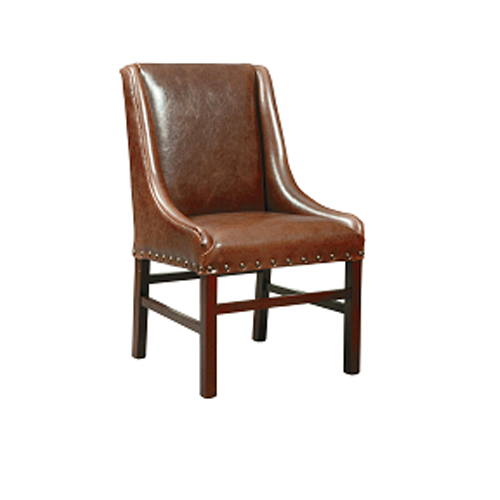 Bab Living Brown Leather Tub Chairs