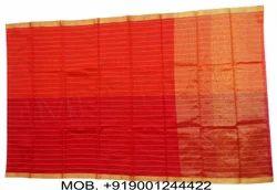 Silk Checked Banarasi Zari Shaded Pheta