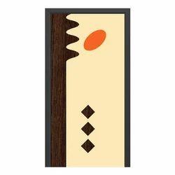 Wood Brown Decorative Laminated Door Skin