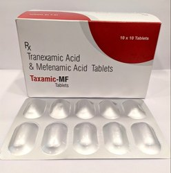 Tranexamic Acid 500mg, Mefenamic Acid 250mg