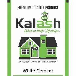 Kalash White Cement, Packaging Type: PP Sack Bag, Packaging Size: 1 Kg