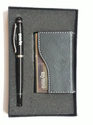 Gift Set Metal Pen and Metal Card Holder