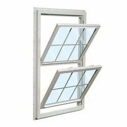 Modern Paint Coated Aluminium Double Tilt Window, for Home