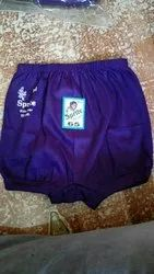 Cotton Daily Wear Baby Purple Bloomers